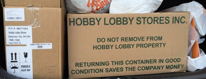 Hobby Lobby is one of Val 님이 좋아한 장소.