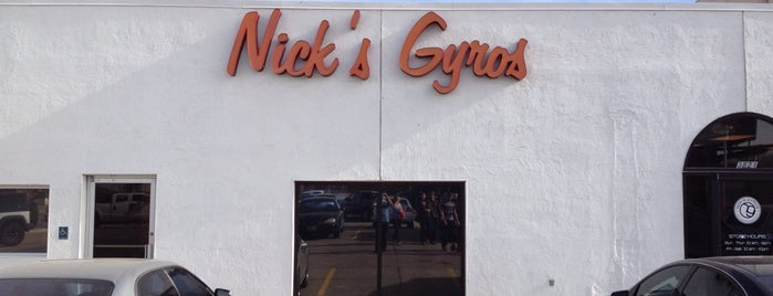 Nick's Gyros is one of Orte, die Katie gefallen.