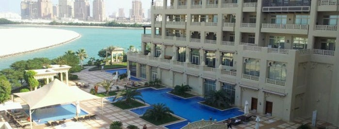 Grand Hyatt Doha Hotel & Villas is one of Tempat yang Disukai Arwa.