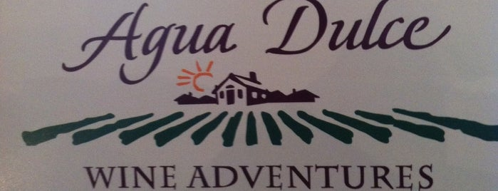 Agua Dulce Winery is one of Locais curtidos por Nataliya.
