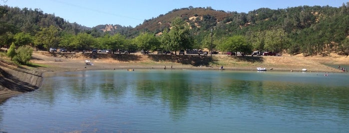 Lake Berryessa is one of National Recreation Areas.