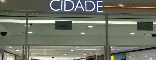 Shopping Cidade is one of Tempat yang Disukai Ju.