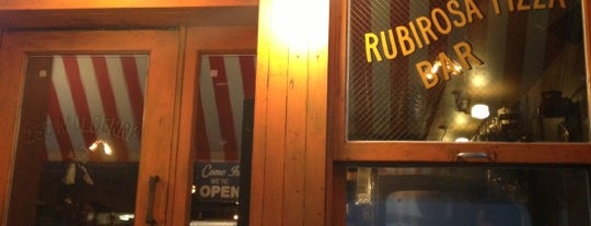"Rubirosa Ristorante is one of ""Sweep Me Off My Feet"" Spots."