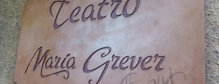 Teatro María Grever is one of #Cervantino2013.