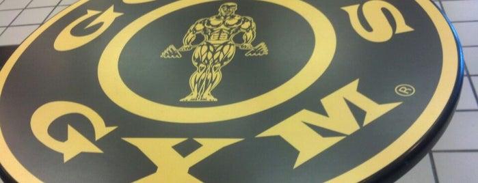 Gold's Gym is one of สถานที่ที่ Geoffrey ถูกใจ.