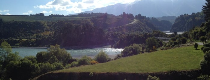 Rakaia Gorge is one of The #AmazingRace 22 map.