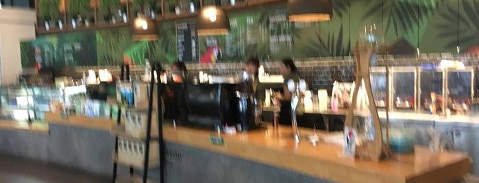 Amazon Cafe near PTT Training Center is one of Locais curtidos por Mike.