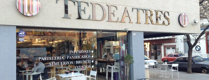 Tedeatres is one of cafes.