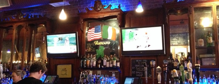 Rumours Irish Pub & Restaurant is one of Bars.