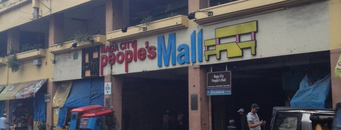 Naga City People's Mall is one of Lieux qui ont plu à Jack.