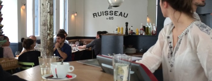 Le Ruisseau is one of FastFood.