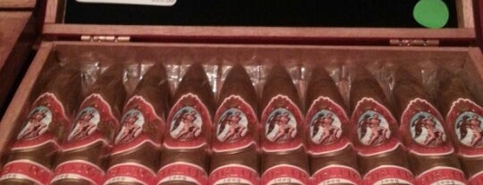 Cigar Connoisseur is one of Delray.