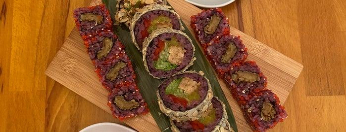 Edamame Vegan Sushi is one of Vegan eats in Varsavia.