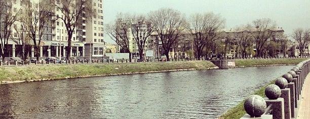 Гімназійна набережна is one of Orte, die Dar gefallen.