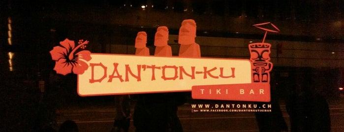 "Dan ""Ton Ku"" Tiki Bar is one of Tempat yang Disukai Damien."