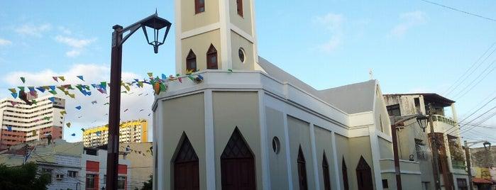 Igreja sao pedro is one of Locais salvos de Arquidiocese de Fortaleza.
