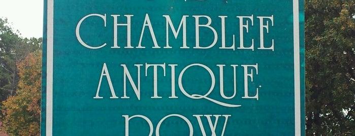 Chamblee Antique Row is one of Atlanta.