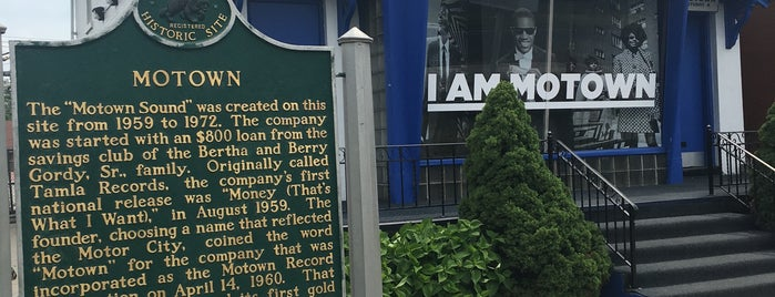 Motown Historical Museum / Hitsville U.S.A. is one of Danielle : понравившиеся места.