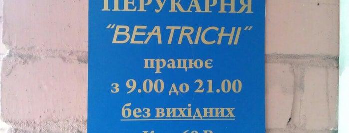 Салон-перукарня Beatrichi is one of Салоны красоты.
