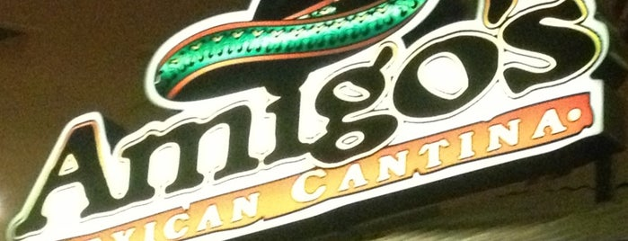 Amigos Mexican Cantina is one of สถานที่ที่บันทึกไว้ของ Lizzie.