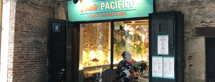 Costa Pacifico Cevicheria Mexicana is one of Barcelona -: Places Worth Going To!.