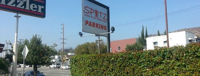 Spitz Eagle Rock is one of Claire's top 100 LA bars and restaurants.