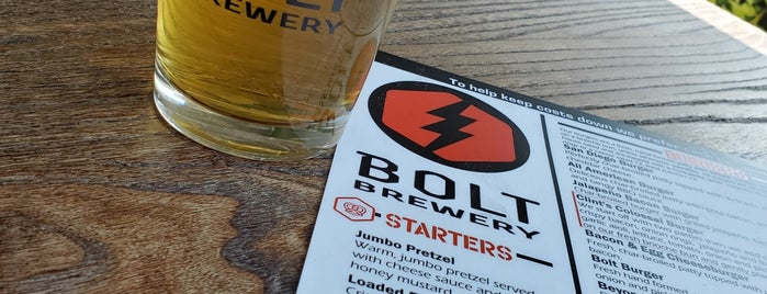 Bolt Brewery is one of Breweries.