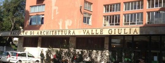"""Facoltà di Architettura (sede di Valle Giulia) - """"Sapienza"""" Università di Roma is one of Ahmed 님이 저장한 장소."""