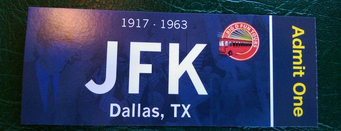 JFK Trolley Tour is one of Dallas To Do.
