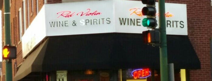Red Violin Wine & Spirits is one of William : понравившиеся места.