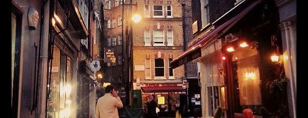 Shepherd Market is one of London.