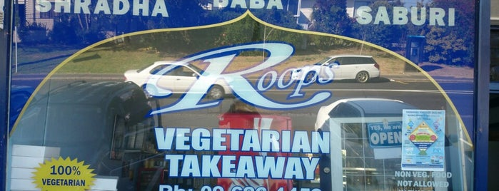 Roops Vegetarian is one of Veggie Auckland.
