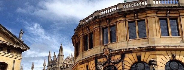 Bodleian Library is one of Oxford Highlights.