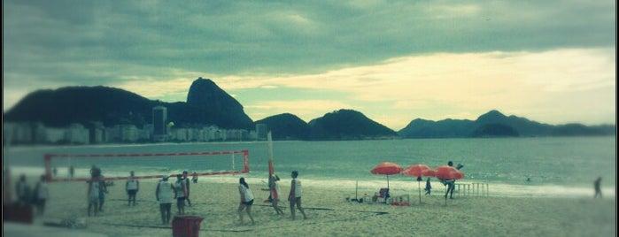 Praia de Copacabana is one of Trip Rio.