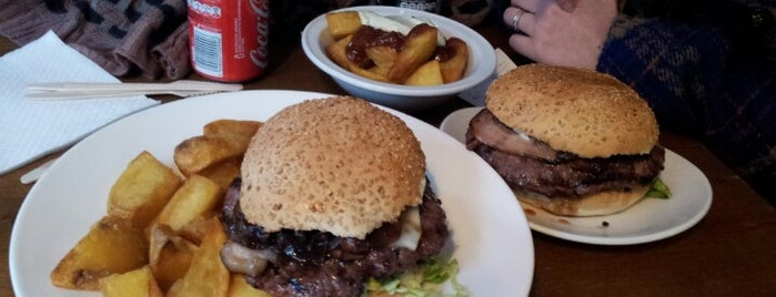 Bacoa Little is one of Barcelona Burgers by @joando.