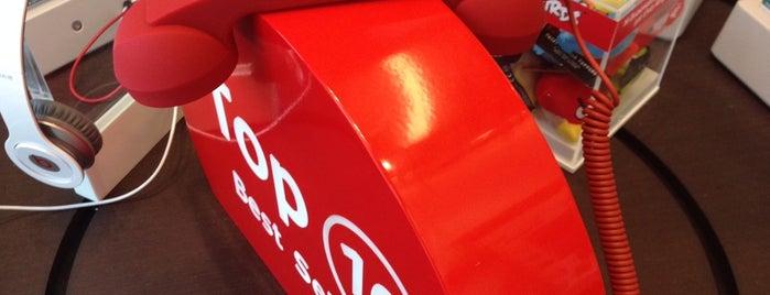 Vodafone is one of Lieux qui ont plu à Spiridoula.