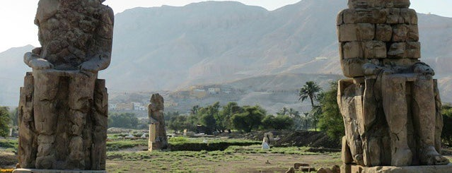 Colossi of Memnon is one of Lugares favoritos de Frank.