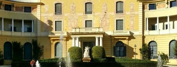Palau Reial de Pedralbes is one of MONUMENTOS/LUGARES.