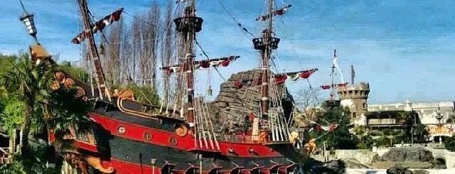La Plage des Pirates is one of Orte, die Valérie gefallen.