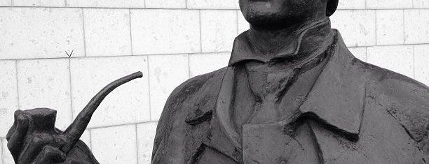 Памятник Шерлоку Холмсу и доктору Ватсону is one of Москва.