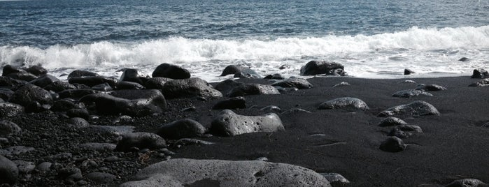 Kehena Black Sand Beach is one of USA Trip 2013.