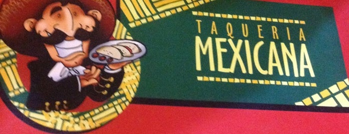 Taqueria Mexicana is one of Restaurantes.