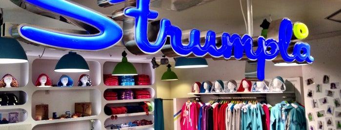 Strumplå Fashion Store is one of Lugares guardados de Florian.