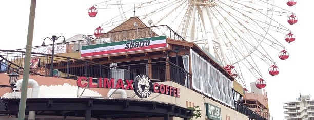 Climax Coffee Mihama 美浜アメリカンビレッジ店 is one of Locais curtidos por Chris.