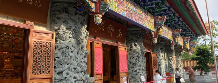 Grand Hall of Ten Thousand Buddhas is one of Hong Kong by a San Franciscan.
