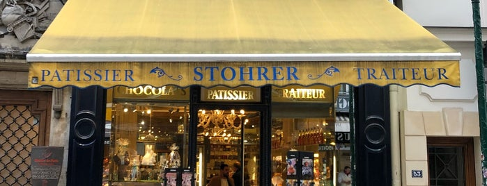 Stohrer is one of Gourmandise sucrée.