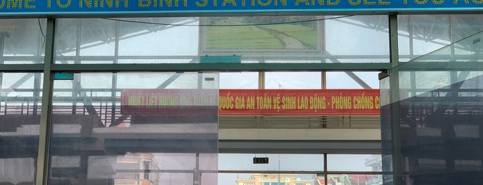 Ninh Bình Station is one of Orte, die Masahiro gefallen.