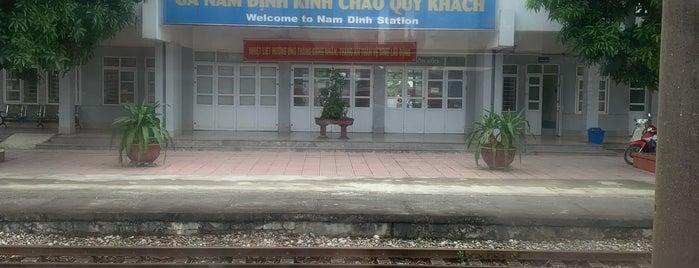 Ga Nam Định (Nam Dinh Train Station) is one of du lịch - lịch sử.