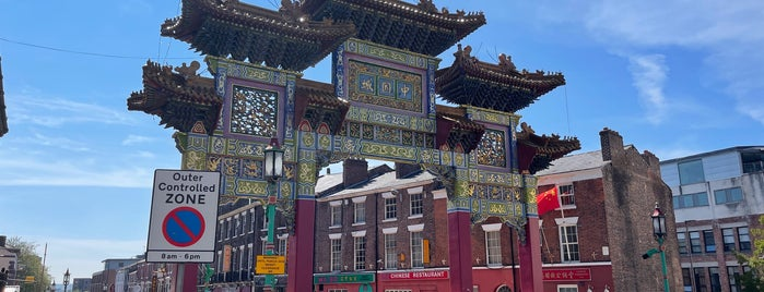 Chinatown Liverpool is one of Liverpool.