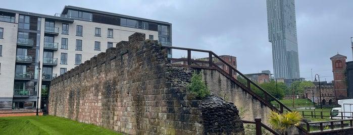 Duke Place Roman Site is one of Манчестер.